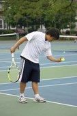 Tuan P. teaches tennis lessons in Malden, Ma