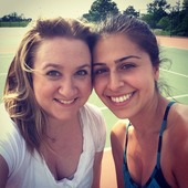 Victoria R. teaches tennis lessons in Kirkwood , Mo
