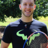 Jonathan C. teaches tennis lessons in Atlanta , Ga
