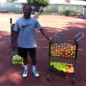 Shihab F. teaches tennis lessons in Union, Nj