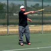 Marc J. teaches tennis lessons in Austin, Tx