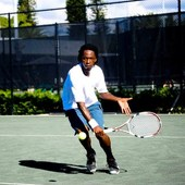 Arnaud B. teaches tennis lessons in Bowie, MD