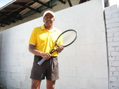 James C. teaches tennis lessons in Los Angeles, Ca
