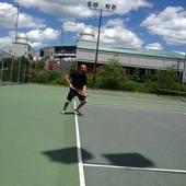 Wilson M. teaches tennis lessons in Brockton, Ma