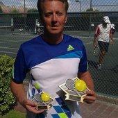 Douglas C. teaches tennis lessons in Phoenix, Az
