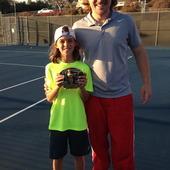 Lukas T. teaches tennis lessons in Orange, CA