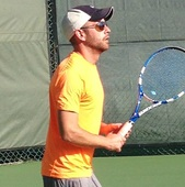 Jason S. teaches tennis lessons in Washington, Dc