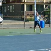 Kenny N. teaches tennis lessons in Randolph, Ma