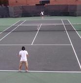 John B. teaches tennis lessons in San Antonio, Tx