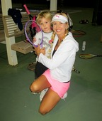 Barbi Y. teaches tennis lessons in Chandler, AZ